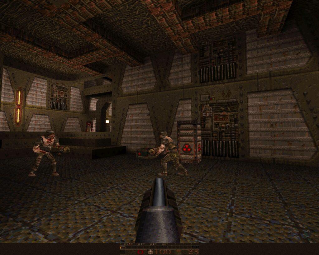 Quake retro