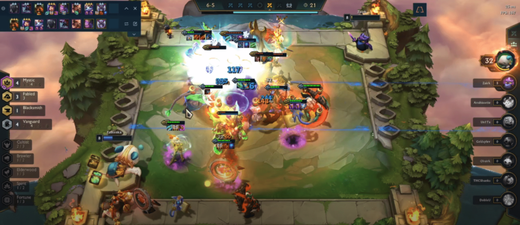 Teamfight Tactics fight