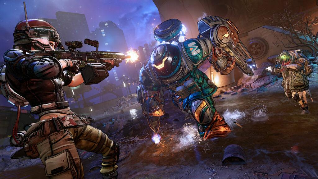 Borderlands 3 boss fight