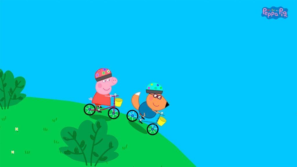 My Friend Pepp Pig - jízda na kole