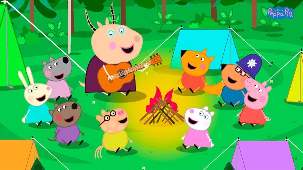 My Friend Pepp Pig - táborák