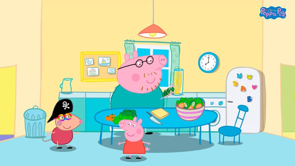 My Friend Peppa Pig - rodinka
