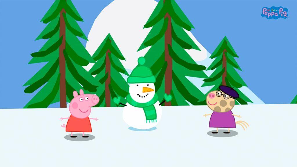 My Friend Peppa Pig - sněhulák