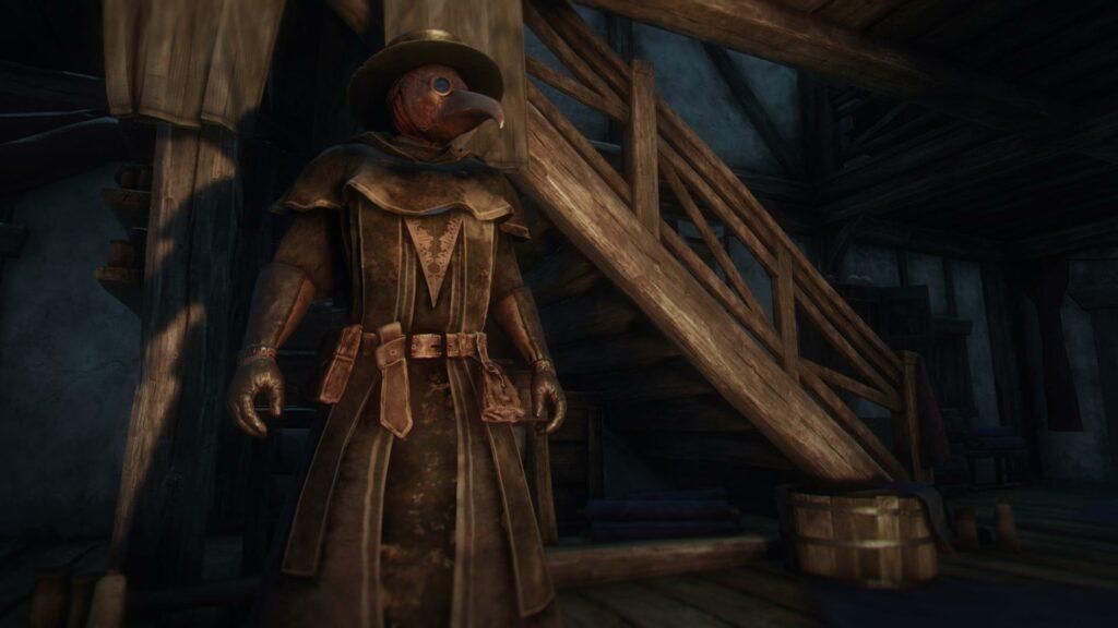 New World plague doctor