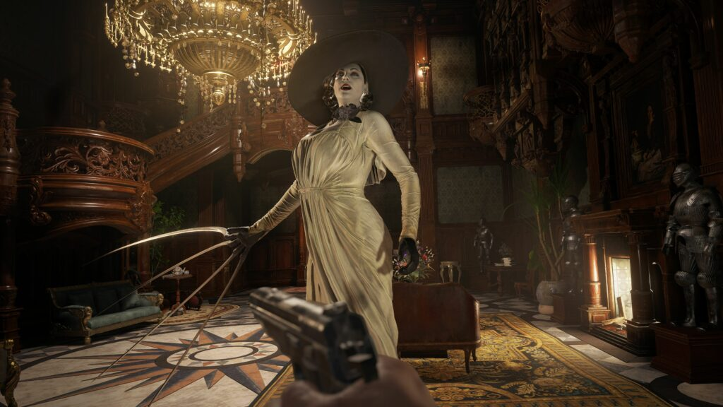Resident Evil Village intro