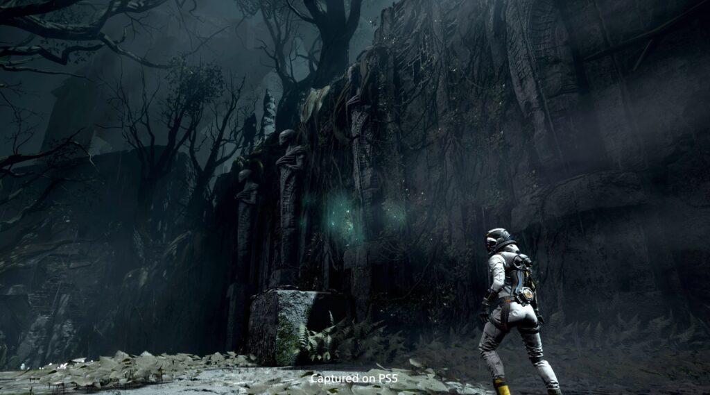 Returnal cave exploration