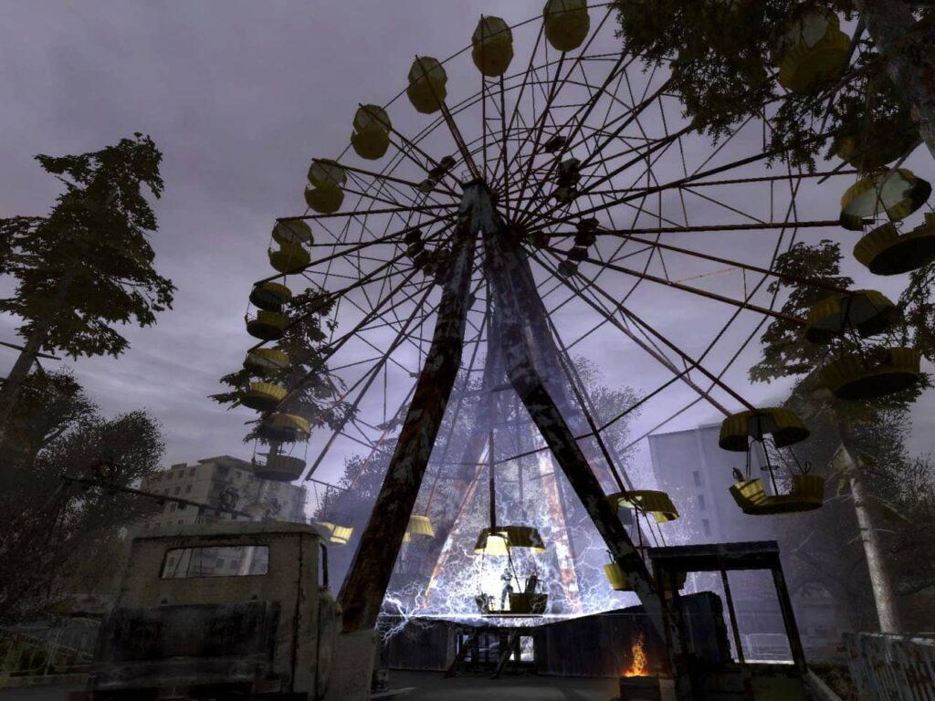 STALKER Shadow of Chernobyl - ruské kolo