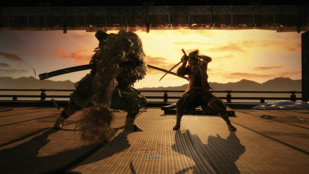 Sekiro shadows die twice duel