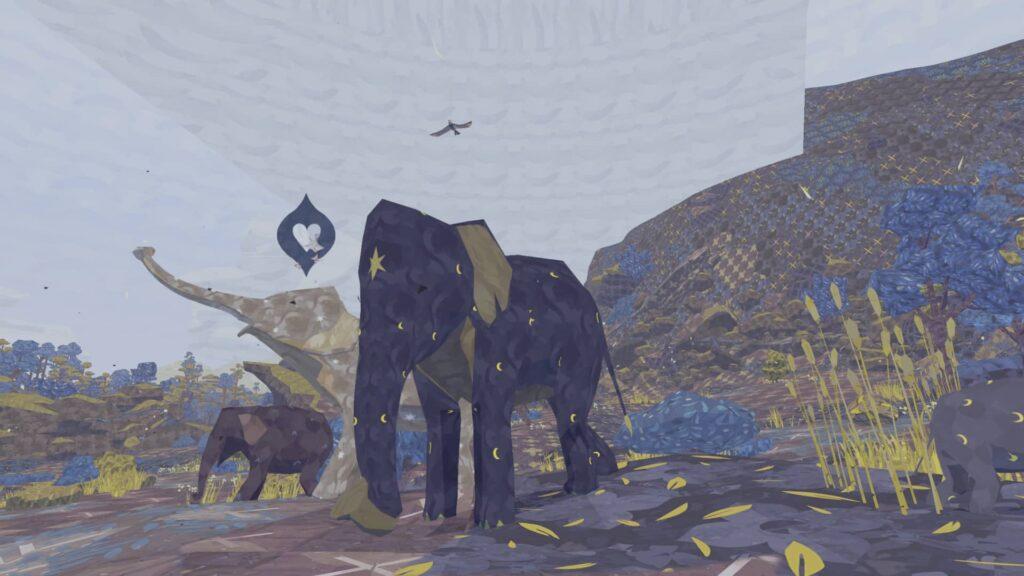 Shelter 3 - stádo slonů