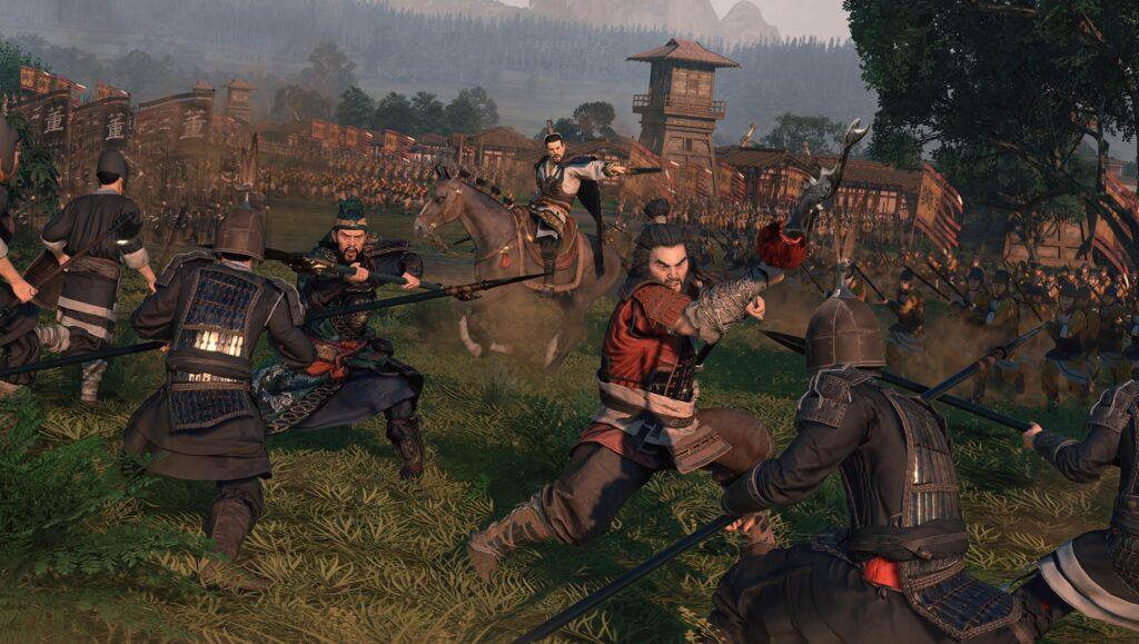 Total War Three Kingdoms fight