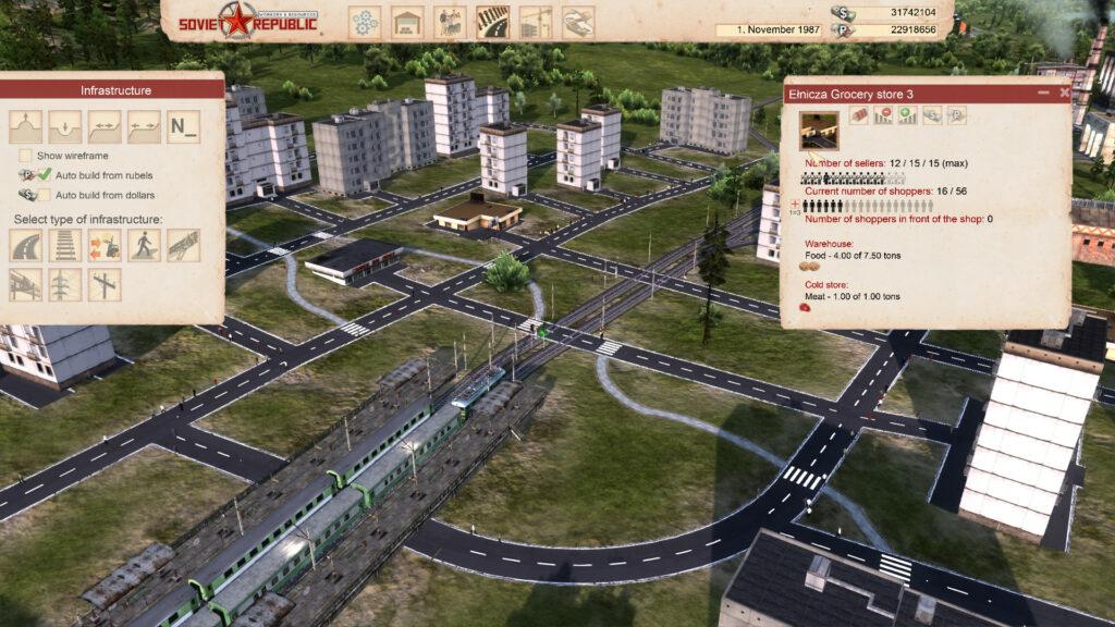 Workers And Resources Soviet Republic sovětské město