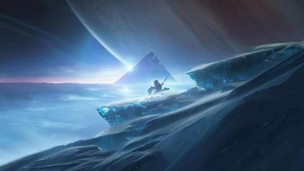 destiny beyond light mimozemská pyramida
