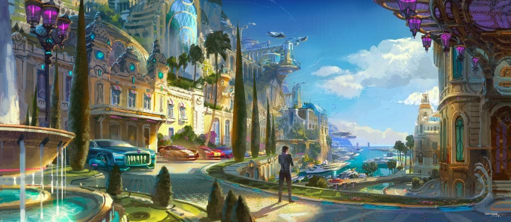 Monte Carlo Overwatch 2 Art