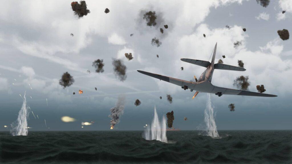 Aircraft Carrier Survival Prologue - letecký souboj