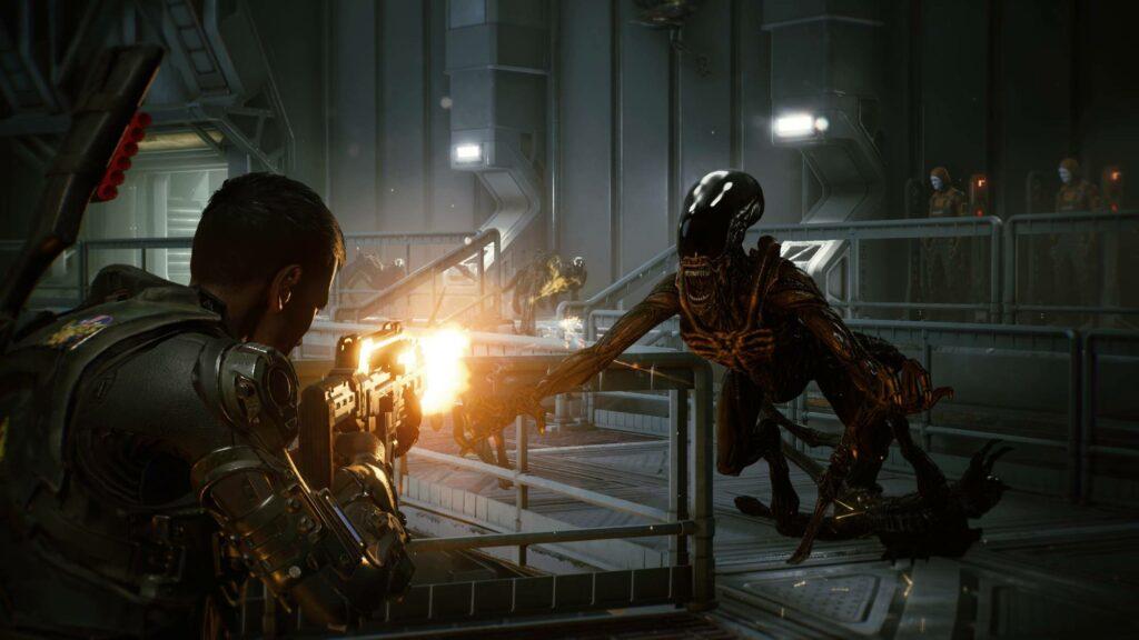 Aliens Fireteam Elite intro fight