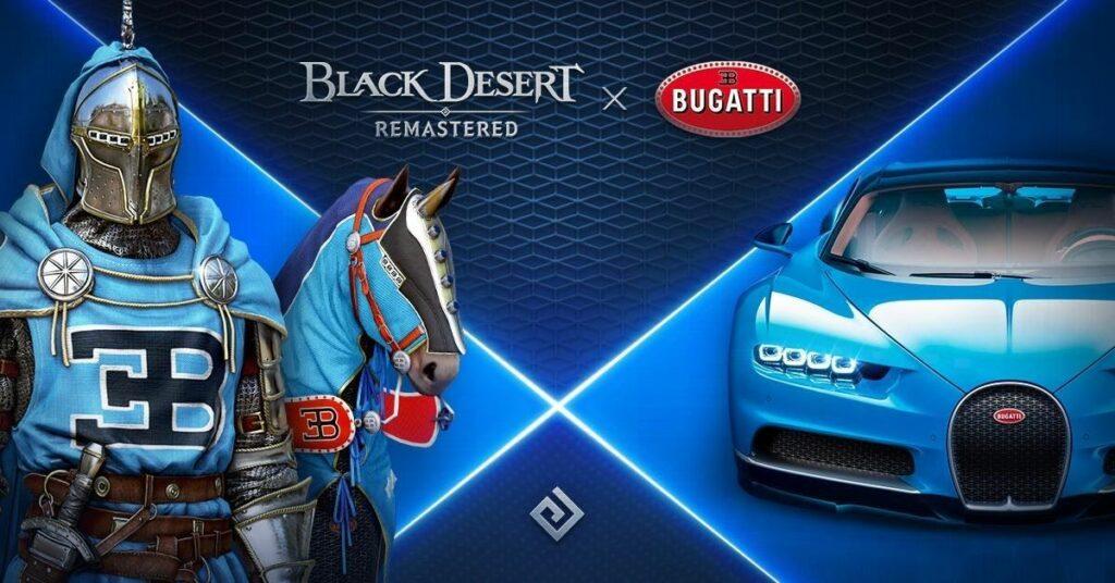 Bugatti a Black Desert