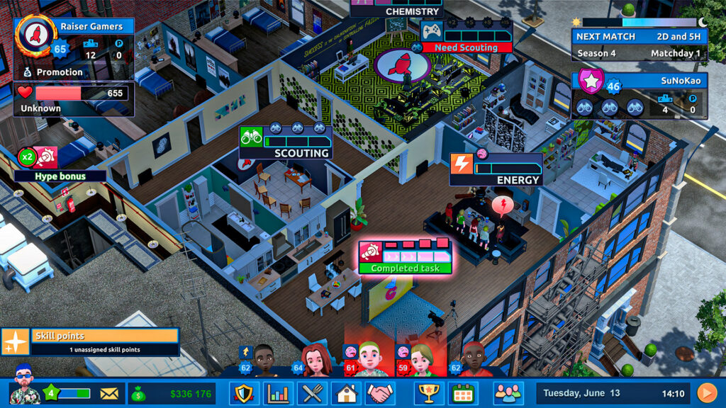 Esports Life Tycoon strategy to win
