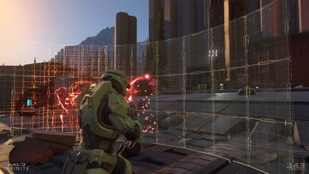 Halo Infinitive – štít