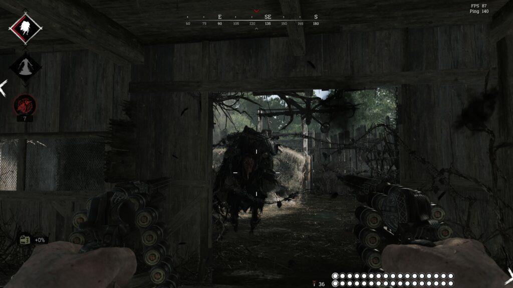 Hunt Showdown Boss fight