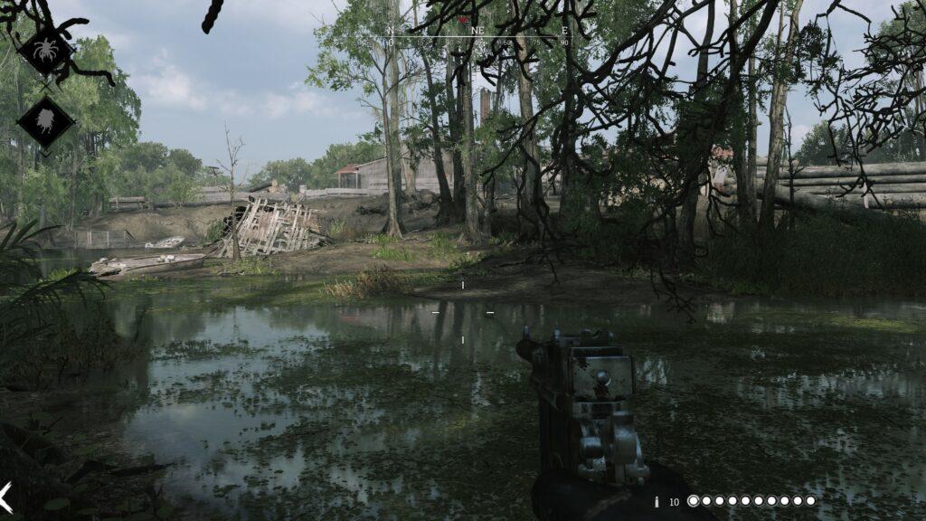 Hunt Showdown mokřady