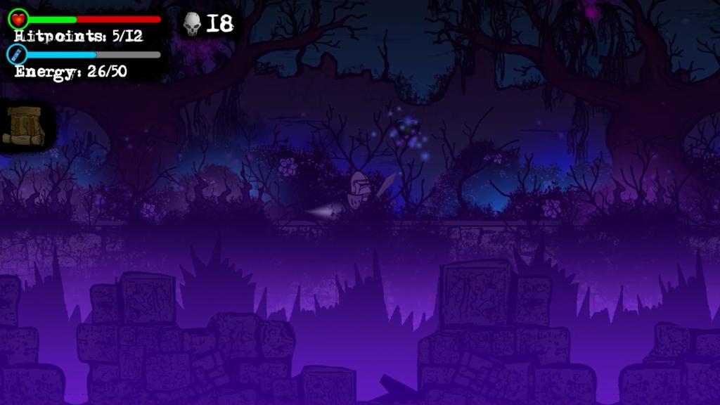 Knightczech The beginning dark toxic forest
