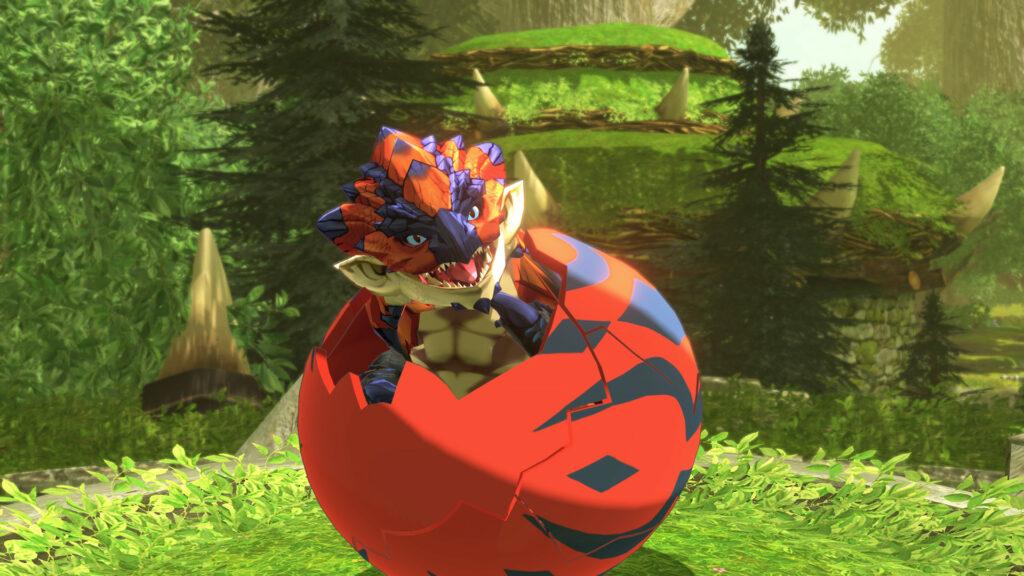 Monster Hunter Stories 2 Wings of Ruin – dráček