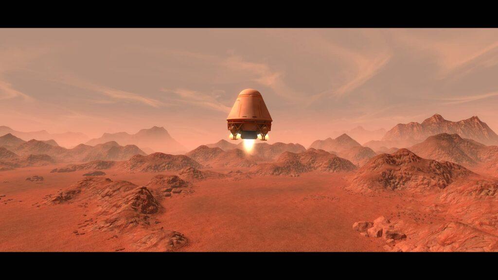 PlanetBase – přistáváme