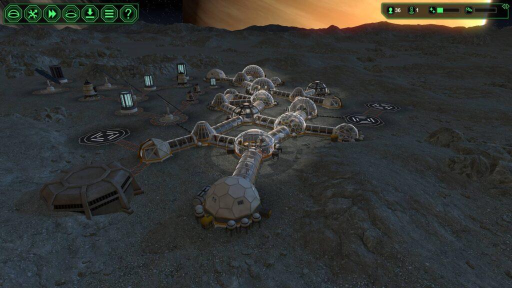 PlanetBase – vaše základna