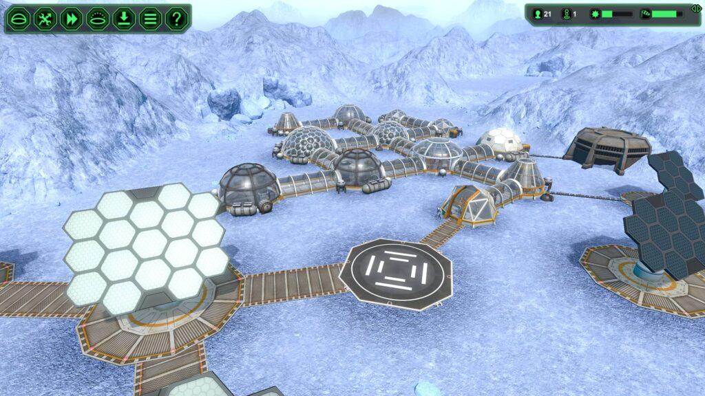 PlanetBase – zimní planeta