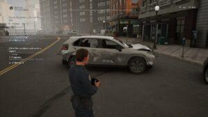 Rozbité auto po nehodě