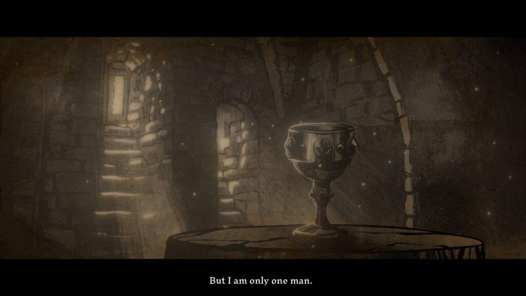The Hand of Merlin – svatý Grál
