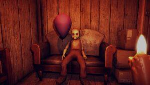 hračka s balónkem