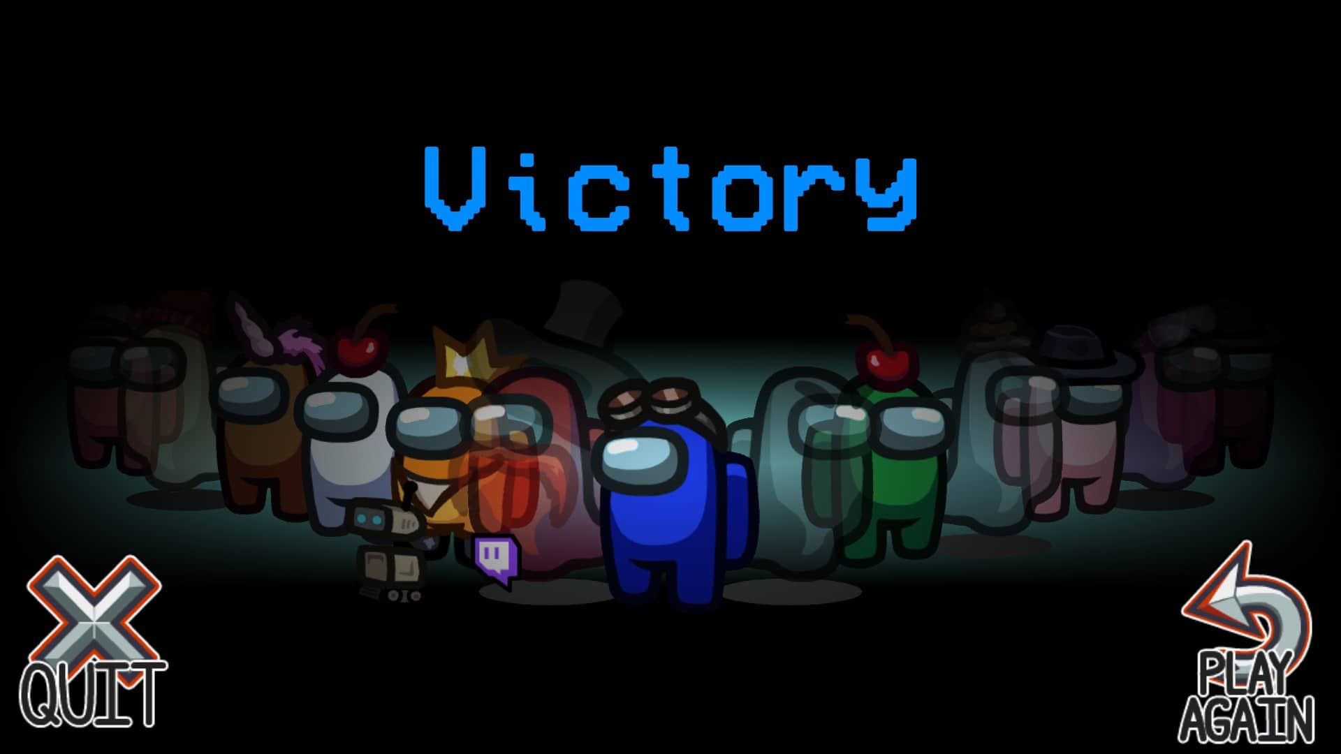 Among us victory