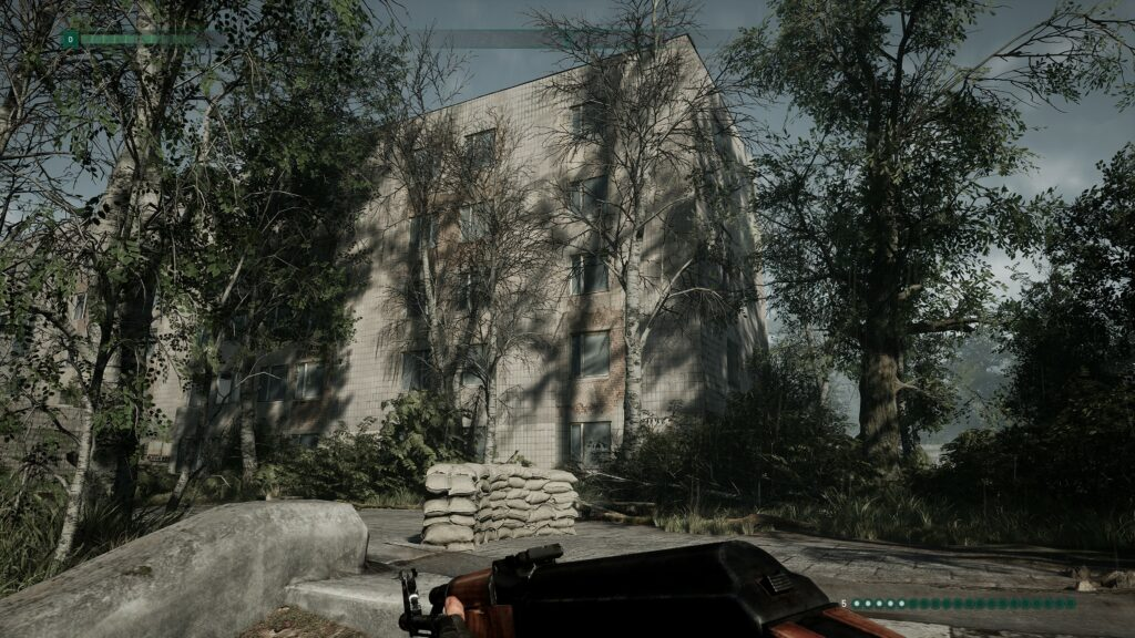 Chernobylite building