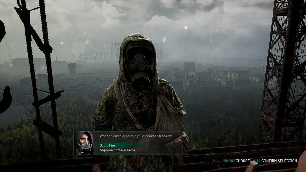 Chernobylite rozhodnutí