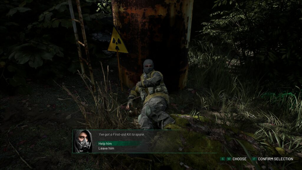 Chernobylite rozhodnutí 2