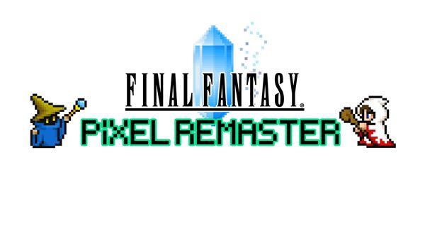 Final Fantasy Pixel Remasters intro