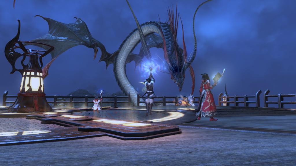 Final Fantasy XIV – leviathan