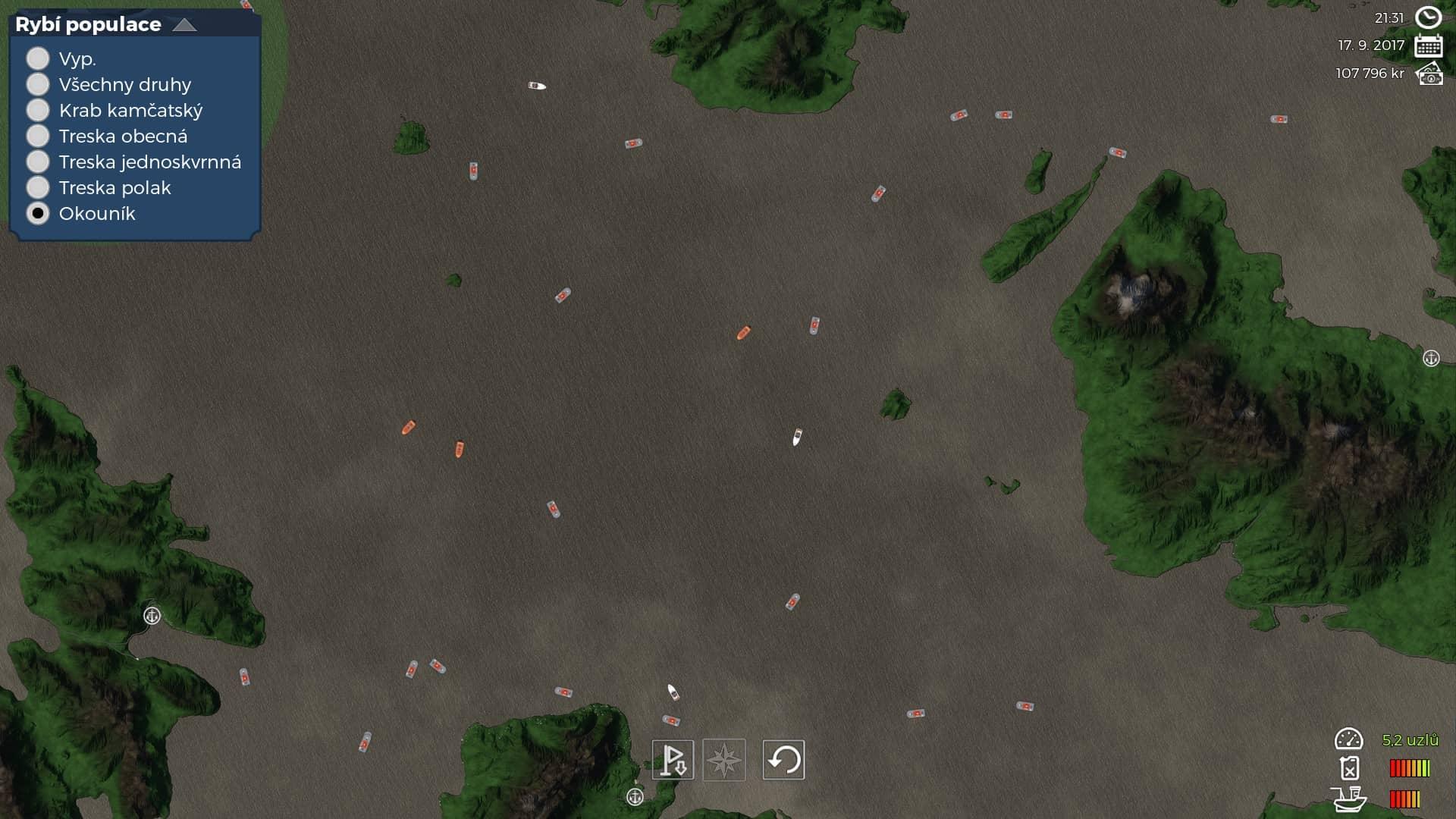 Fishing Barrents Sea - mapa