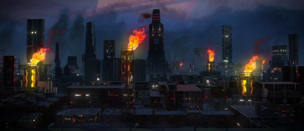 Industries of Titan city one