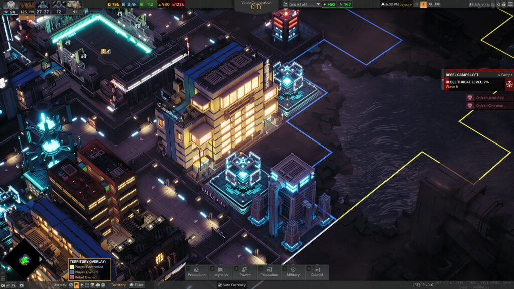 Industries of Titan multiblock