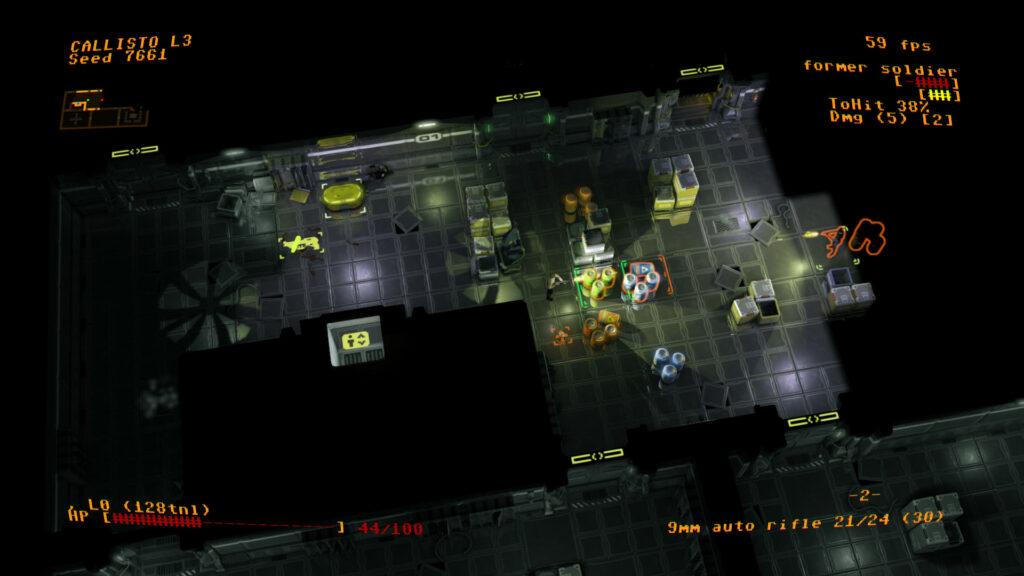Jupiter Hell gameplay