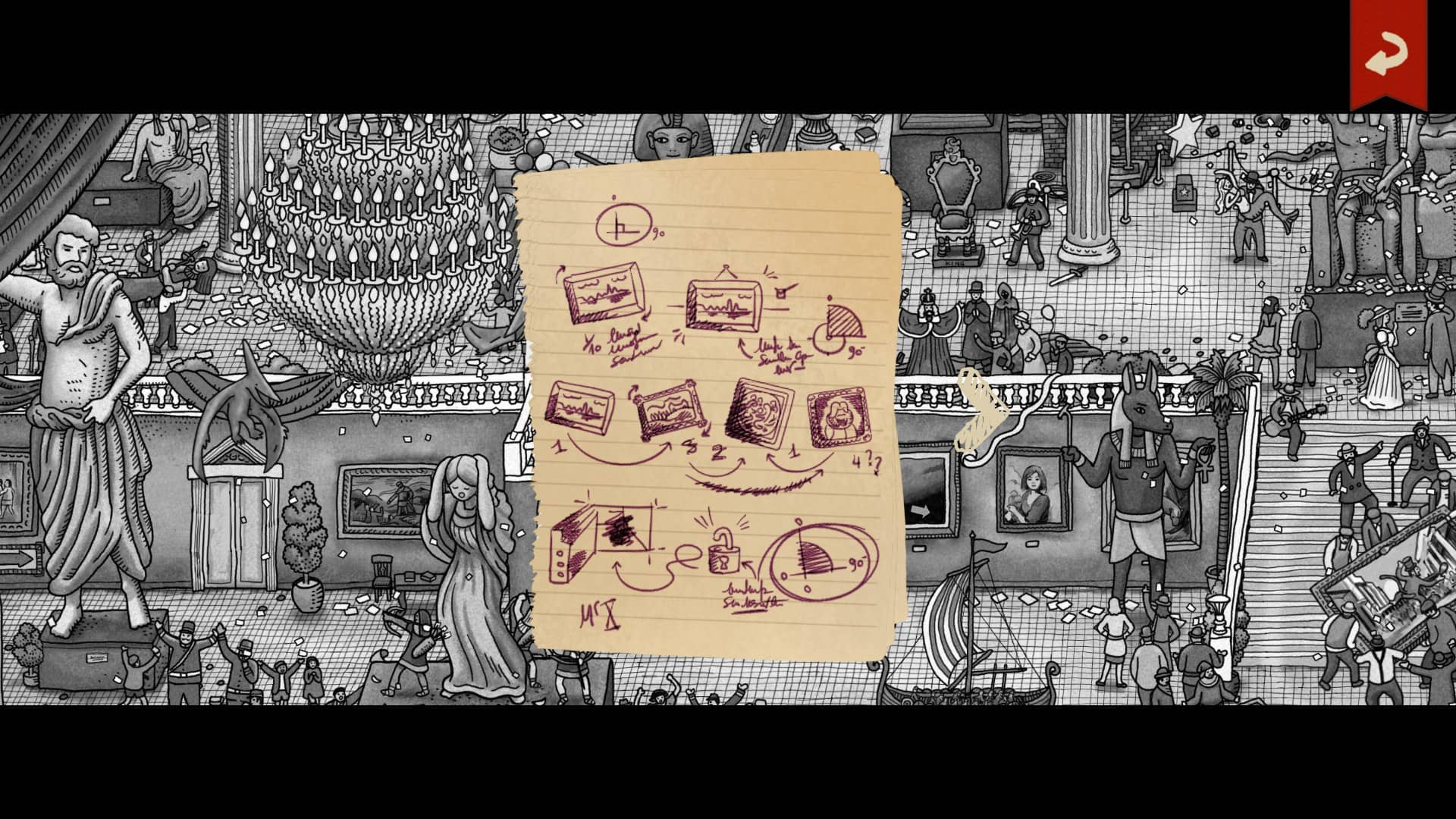 Labyrinth - nápovědy
