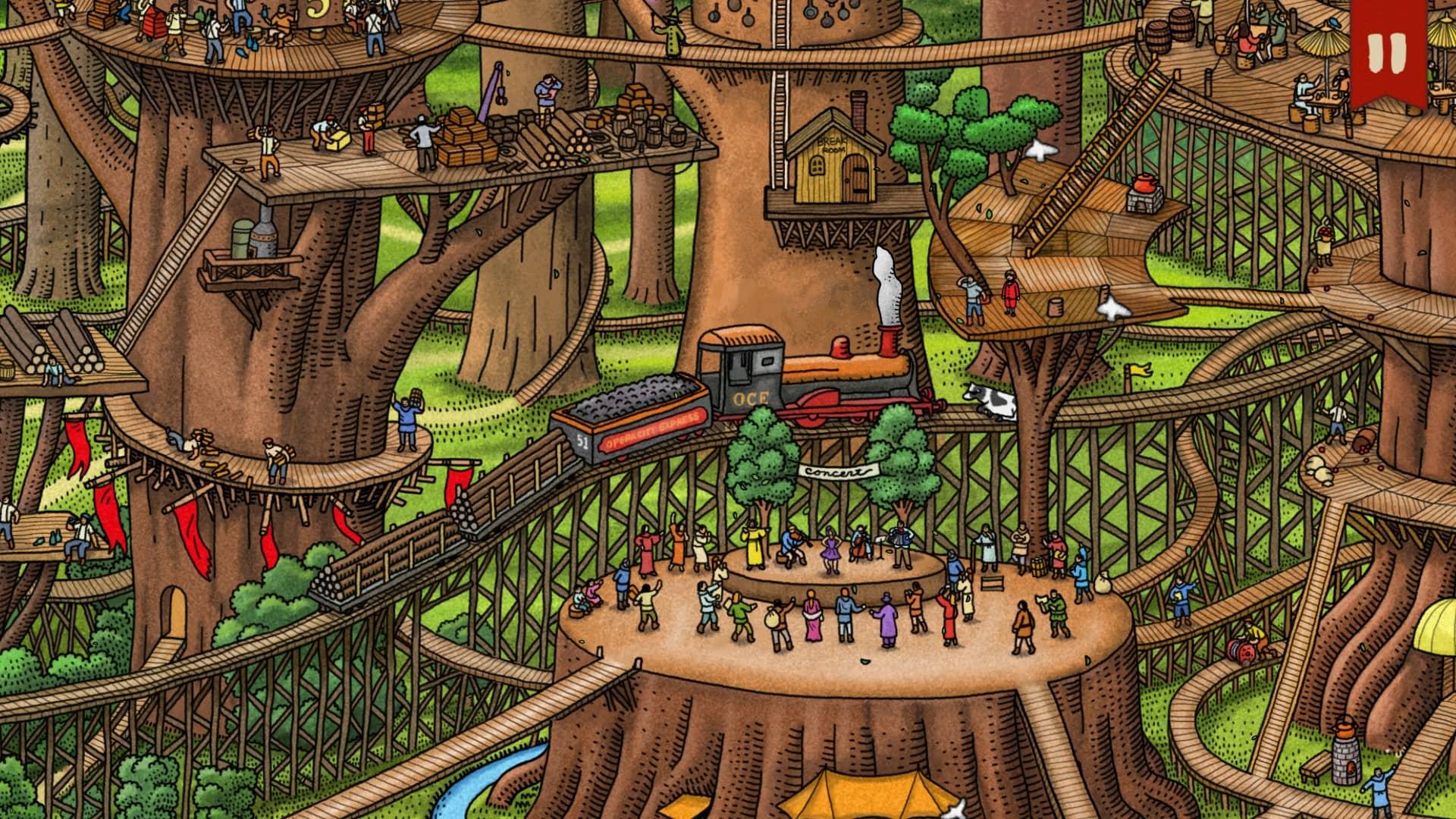 Labyrinth - vlak