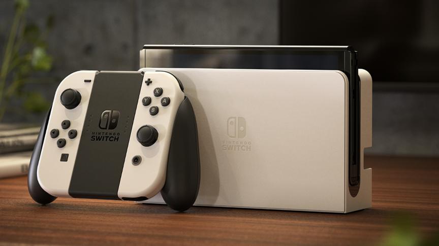 Nintendo Switch OLED - bílá varianta
