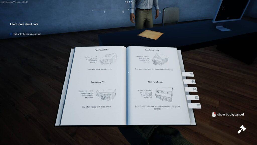 Ranch Simulator update kniha na stavění