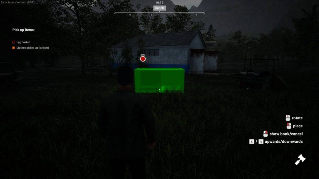 Ranch Simulator update stavění
