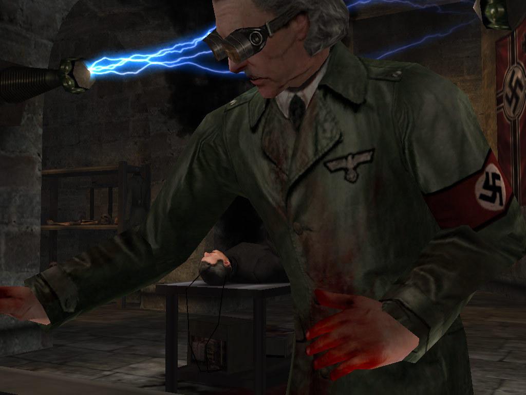 Return To Castle Wolfenstein torture