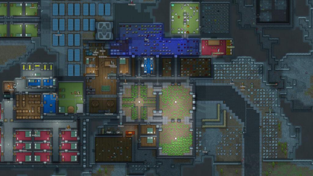 RimWorld colony