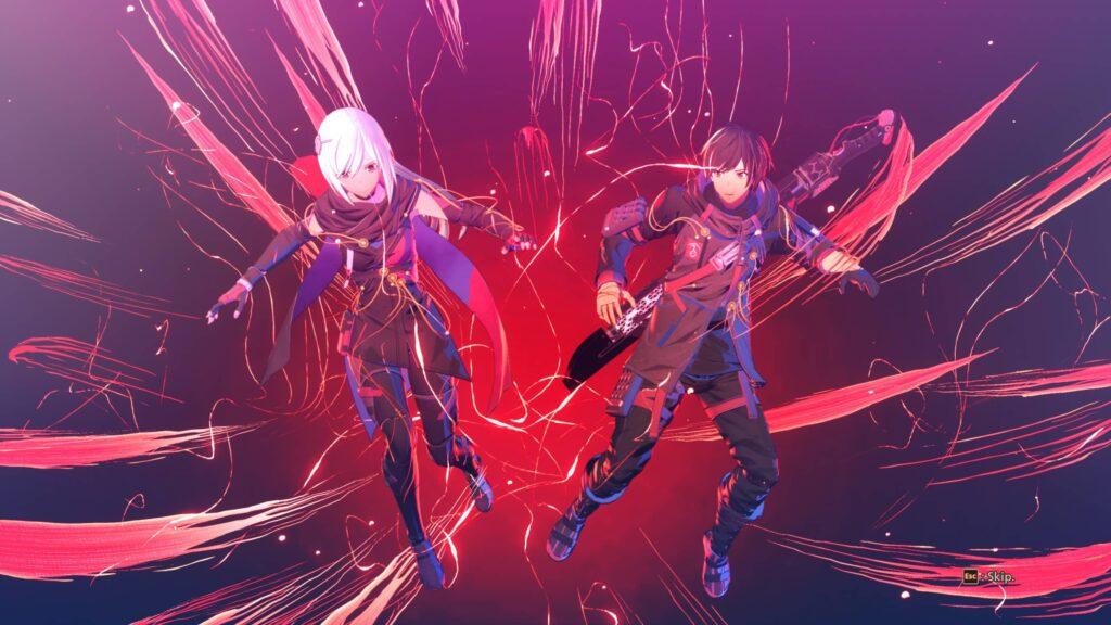 Scarlet Nexus – red strings